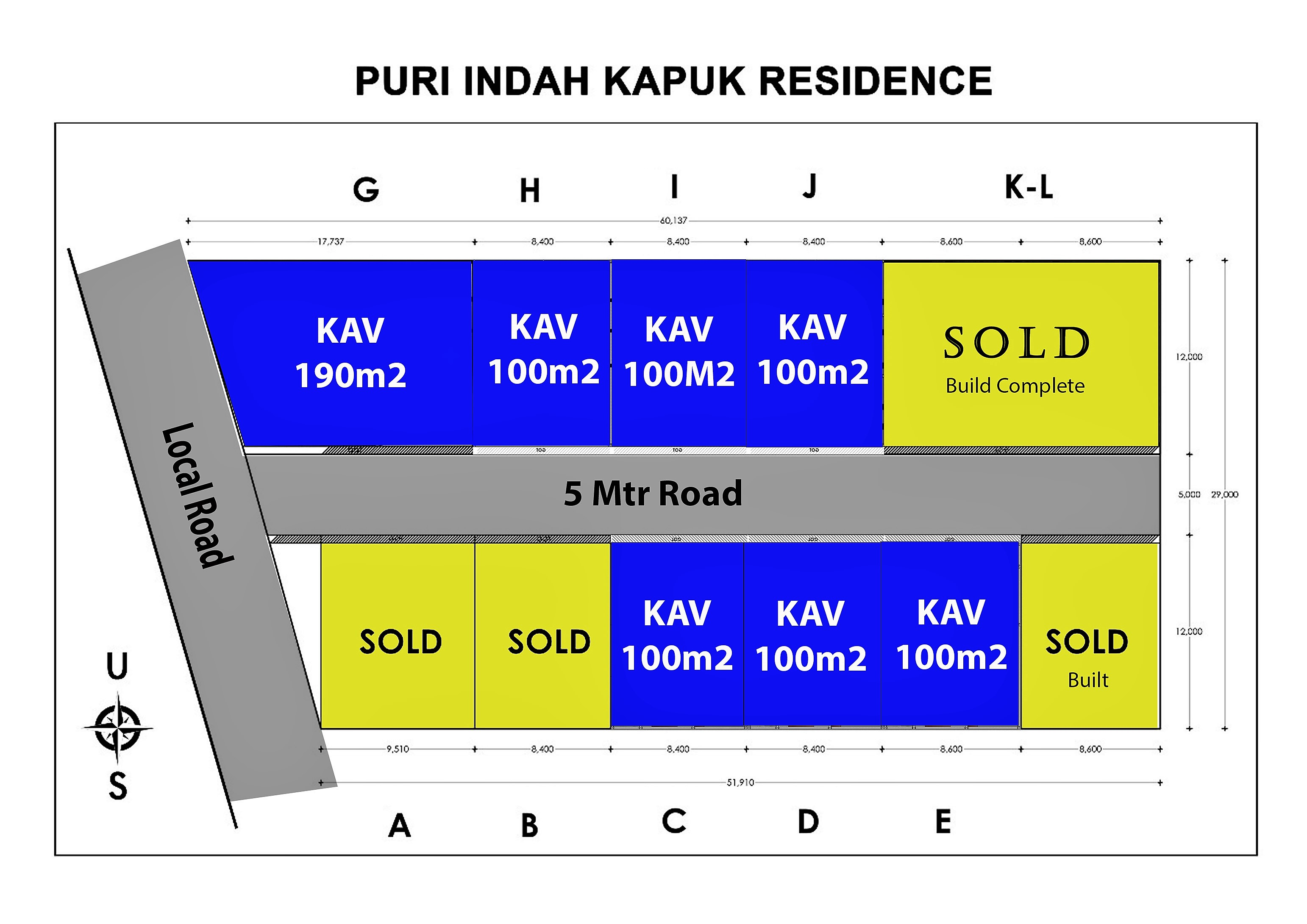 Land Plots (Kavling) Near Great location near GWK