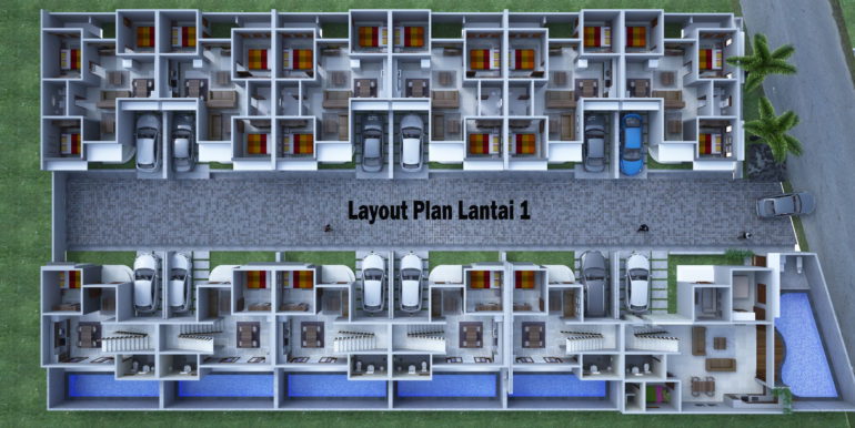 12. Layout Plan Lantai 1