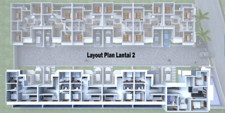 13. Layout Plan Lantai 2